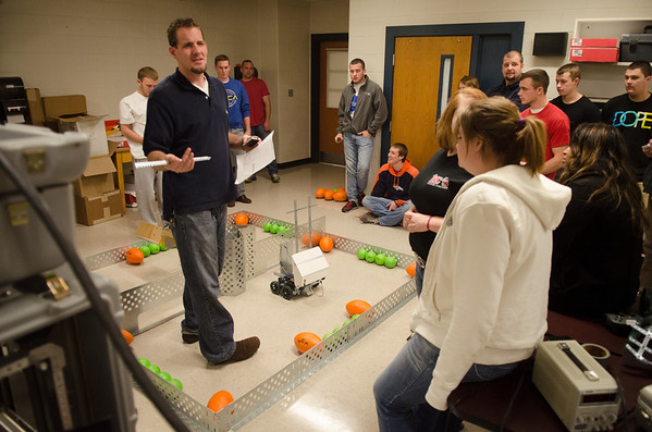 Unmanned Systems Vex Robot Tournament 2013