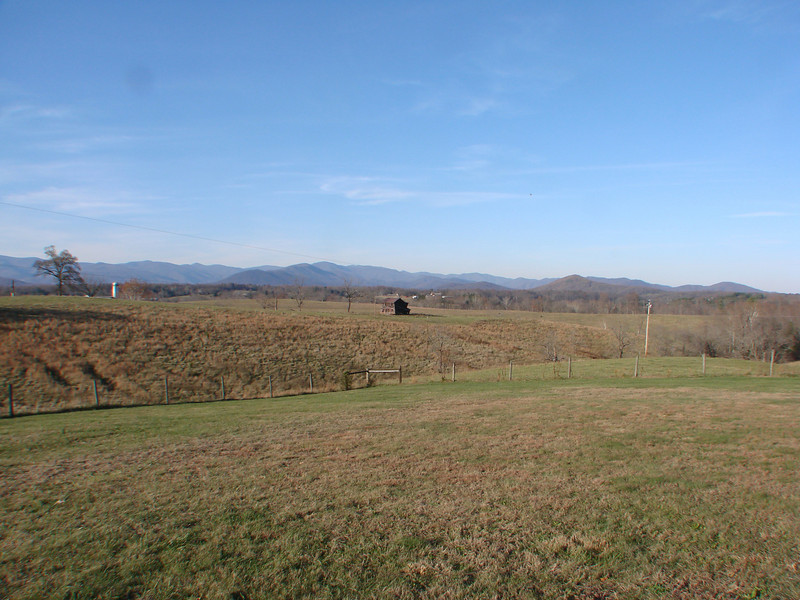 Scenic drive to Fairview Christian Church, Hood VA