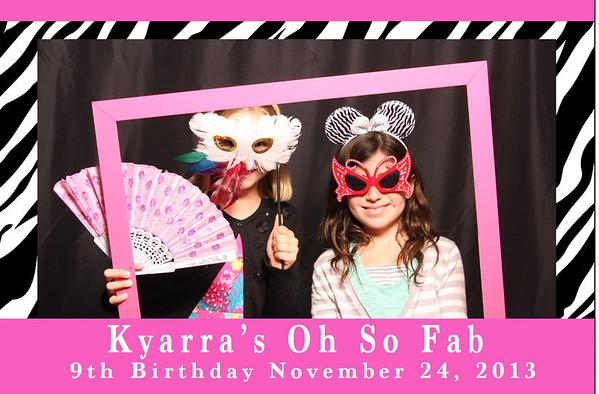 Kyarra's Birthday