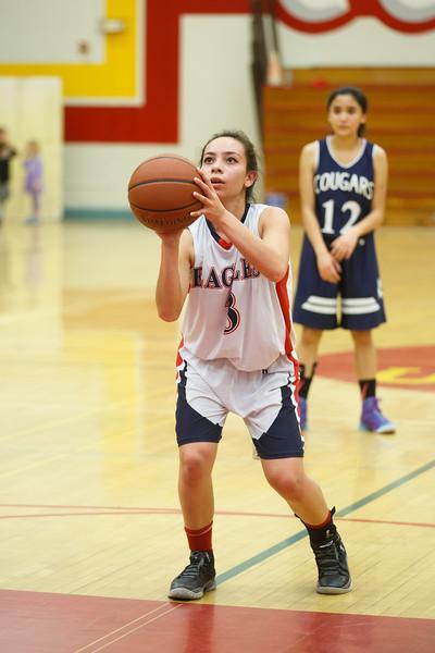 RCS Girls' Varsity Basketball - Homecoming 2016