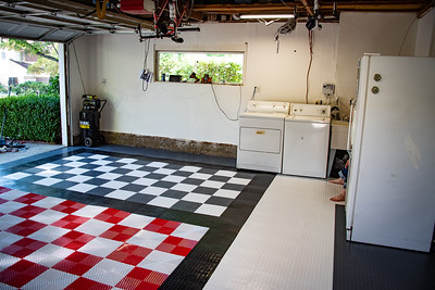 2018.06.27 - Garage Floor Installed