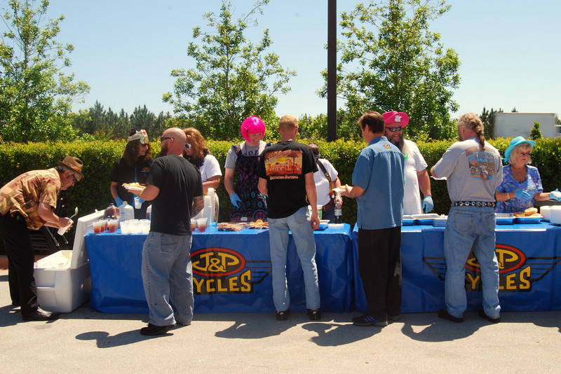 011 Food Line at J&P Cycles 2010 Employee Appreciation Day.jpg