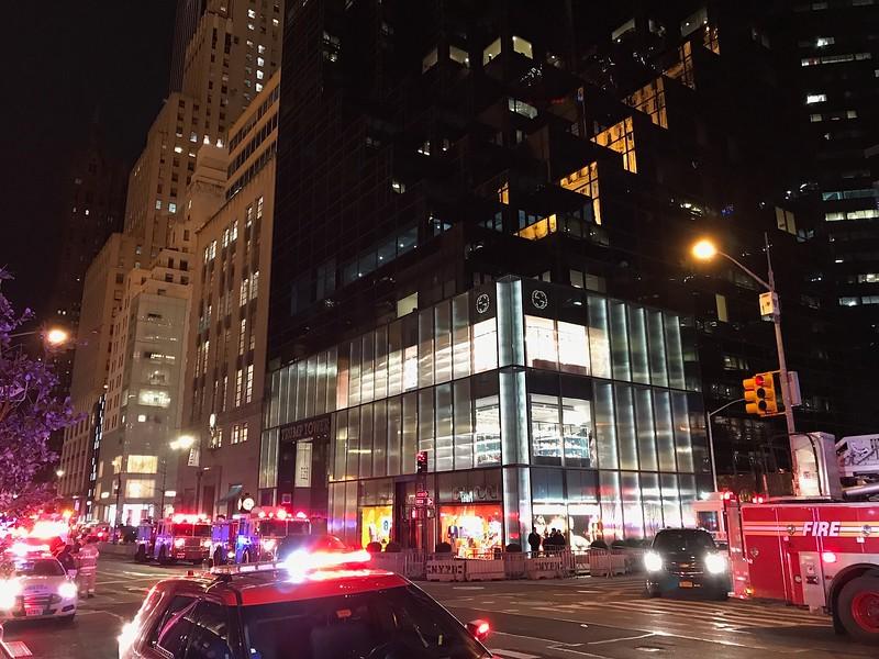 Trump Tower, 5th Avenue.
