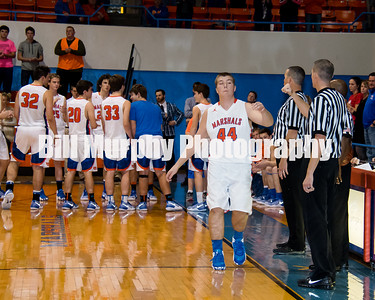 2016 MCHS Boys Varsity Basketball vs Ballard County, November 29, 2016.