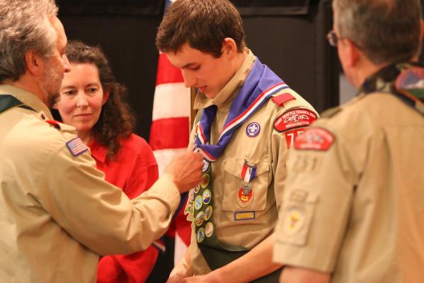 Ben Keller Eagle Court of Honor - December 18 2011