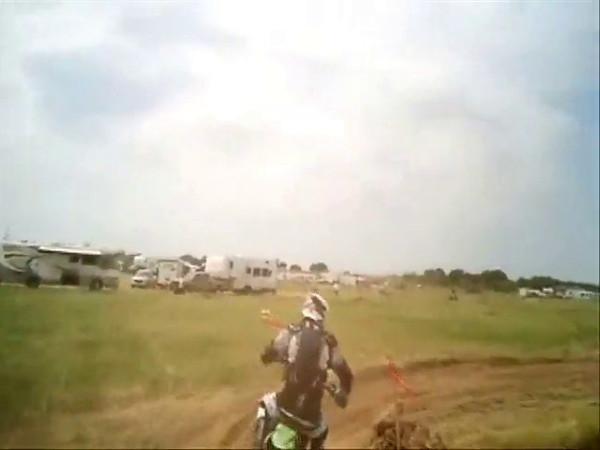Helmet cam, race 7, 52 AM