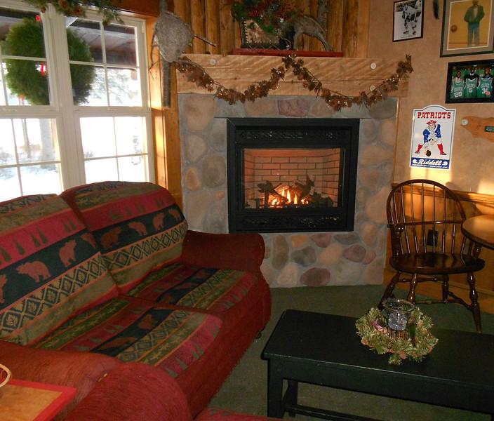 The cozy Rainbow Grille Tavern
