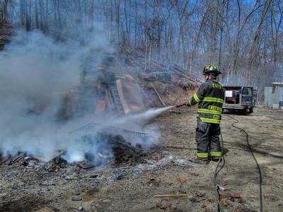 4-4-13 Rubbish Fire, Route 9
