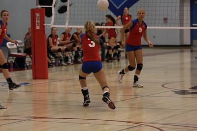 2009 FHS Varsity VB vs St. Francis 10-14-09