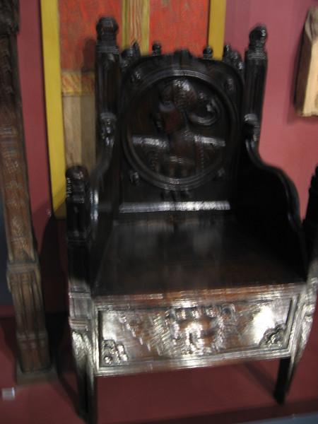 Throne, Victoria and Albert Museum