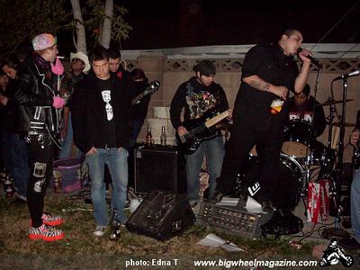 Tak'se Driver- at Backyard Party - Santa Ana, CA - December 27, 2008