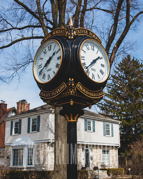 River Forest Town Clock