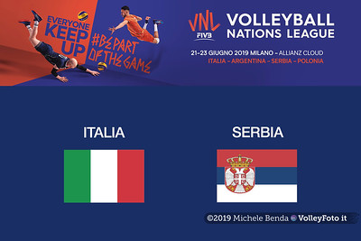 20190621 ITALIA vs SERBIA Pool14 Week4 (Maschile)
