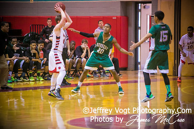 02-28-2015 Blair HS vs Kennedy HS Varsity Boys Basketball , Photos by Jeffrey Vogt Photography with James McCrae