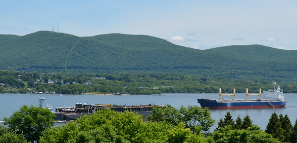 Viking and Clipper Phoenix a bulk carrier headed for Port of Albanyn NY