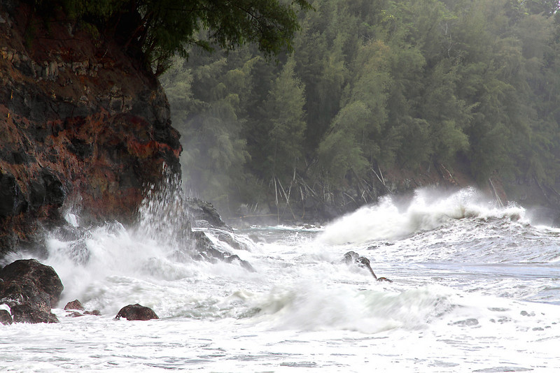 Storm, Big Island.