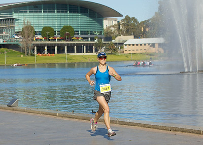 Adelaide Marathon 2011 42Km Mark