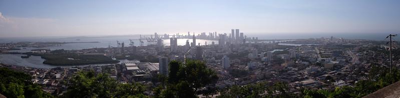 Cartegena, Colombia, and Caribbean Sea