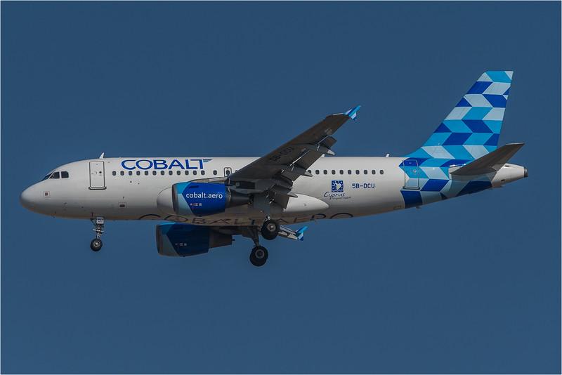Cobalt / Airbus A319-112 / 5B-DCU
