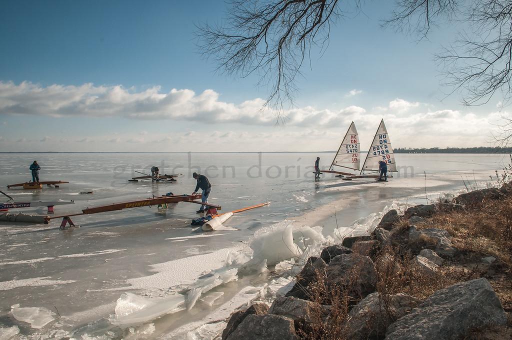 Iceboats | Houghton Lake, MI