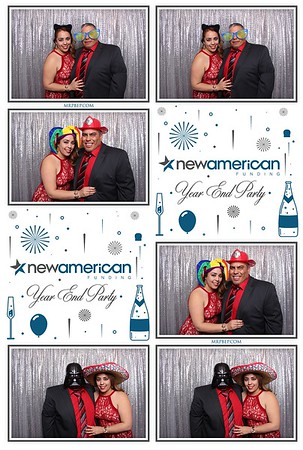 New American Funding Year End Party