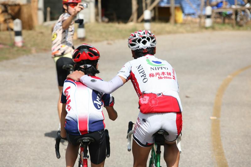 Team Meitan, Japan training