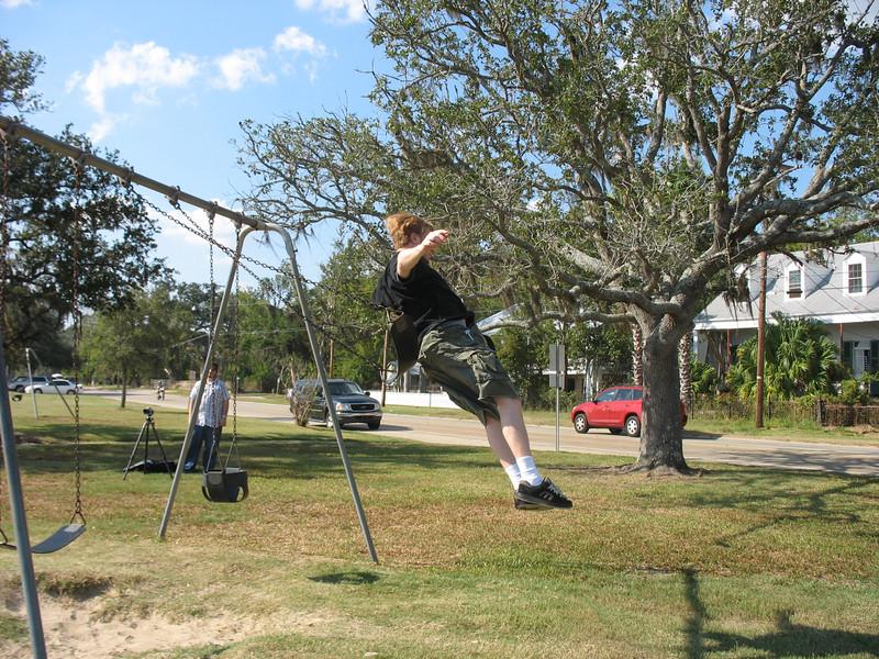 Bryan jumps!