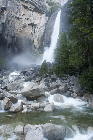 Lower Yosemite Falls  July '11 4450
