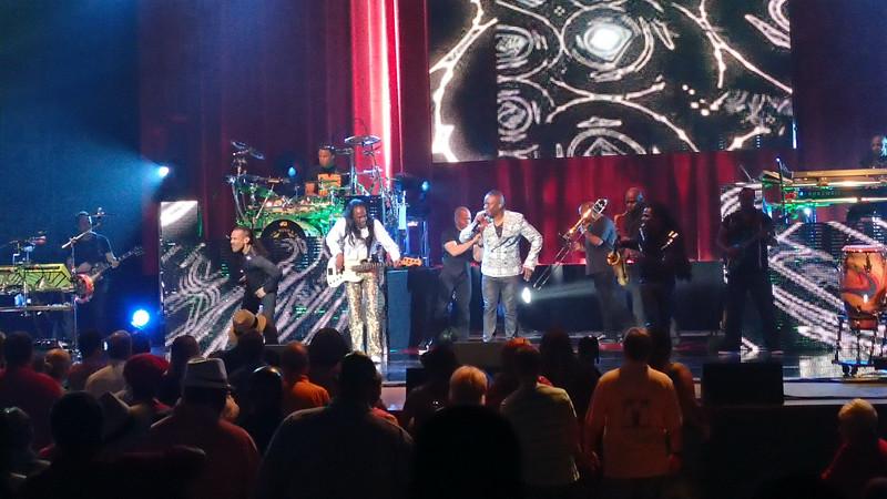 June 2015. Earth, Wind & Fire Concert