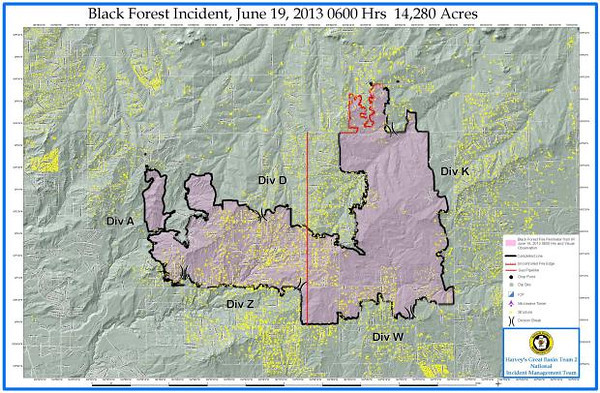 Black Forest Fire Day 9