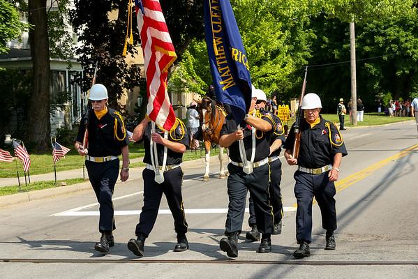 2018 Caledonia Memorial Day Parade  5-28-18