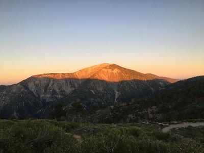 Wildview Peak and Pine Mountain Ridge