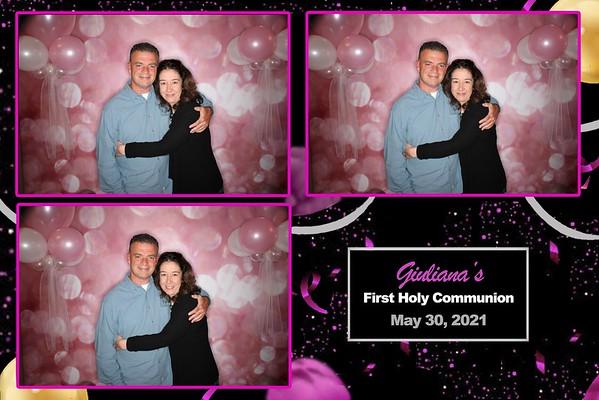 Giuliana's First Holy Communion