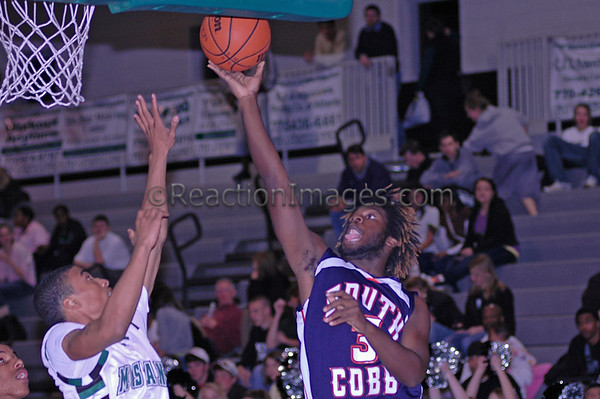 2007/08 KMHS Boys Varsity Basketball vs. North Cobb, Campbell