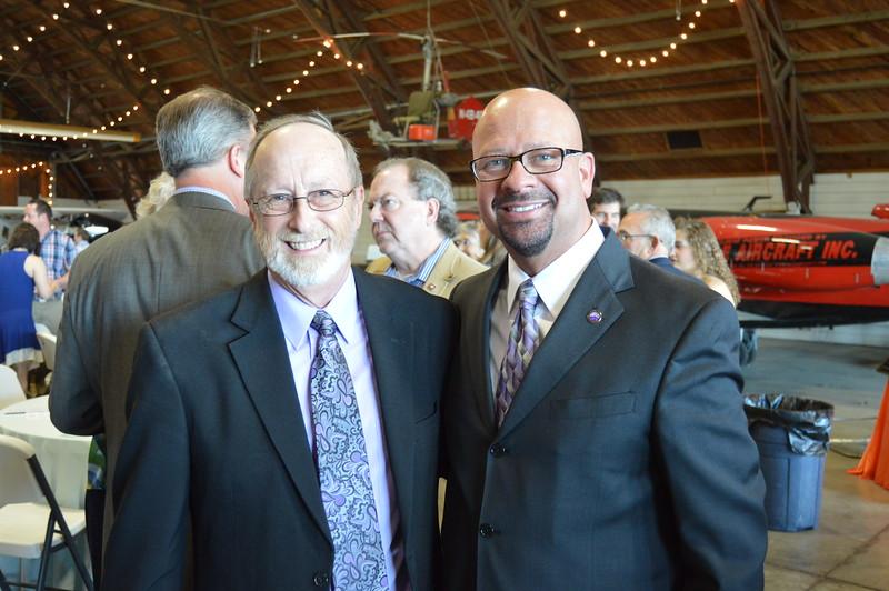 Lioneld Jordan (Mayor), Dr. Matthew Wendt (Superintendent) 2.JPG