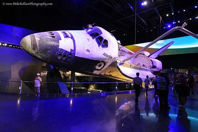 Space Shuttle Atlantis Grand Opening