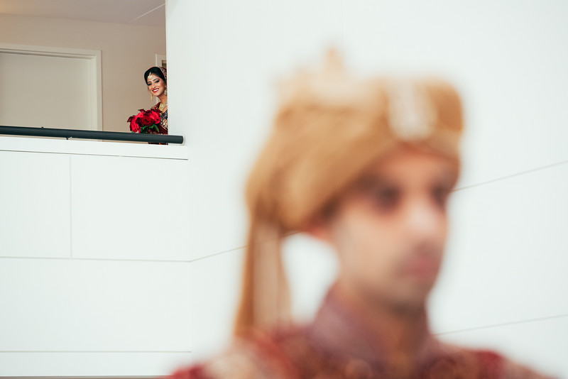 Le Cape Weddings - Indian Wedding - Day 4 - Megan and Karthik First Look 8.jpg