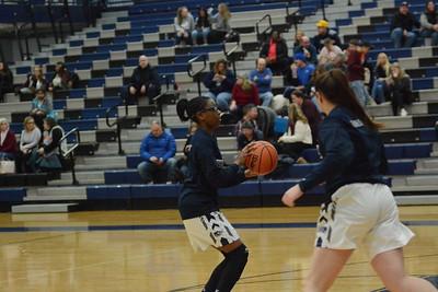 OE Girls Varsity Basketball Vs Plainfield So. 2019