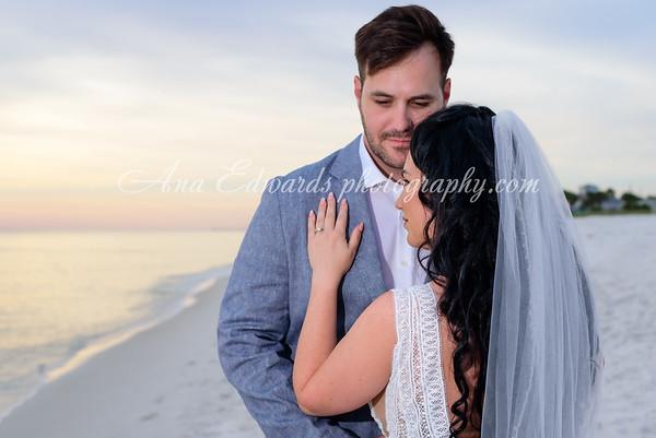 Mr. and Mrs. Hosmer.  The Opulent Pearl  |  Panama City Beach
