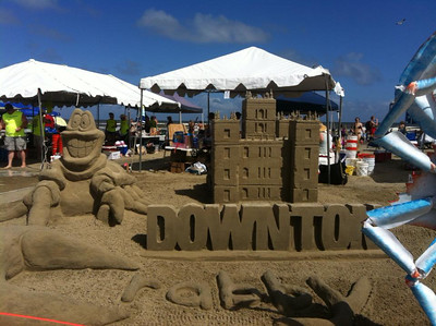 Young Adult Sandcastle Trip
