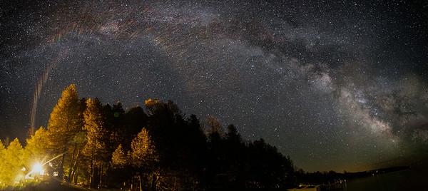 Milky Way Photos Kangaroo Lake WI