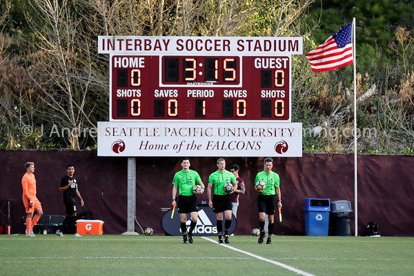 20190905 Mens Soccer Seattle Pacific University Falcons versus Sonoma State University Seawolves Snapshots
