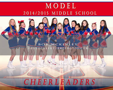 Model Middle School Cheerleading