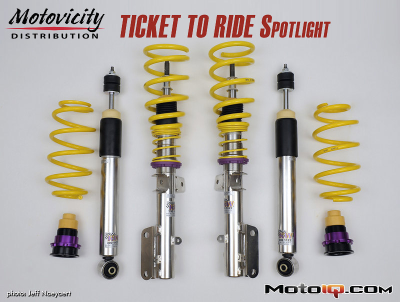 Motovicity Ticket to Ride, Ford Mustang, KW Suspension