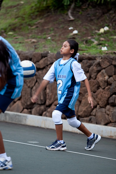 Kamehameha Volleyball Blue Team 2009