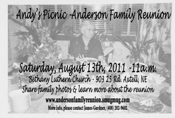 2011 Anderson Family Reunion