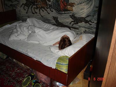 2005-06-09 Сборы и отъезд Алёшки в лагерь