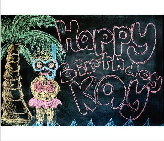 Kay's 70th Birthday book