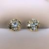 3.40ctw Old European Cut Diamond Pair 19