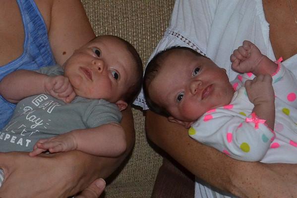 Babies' First Meeting